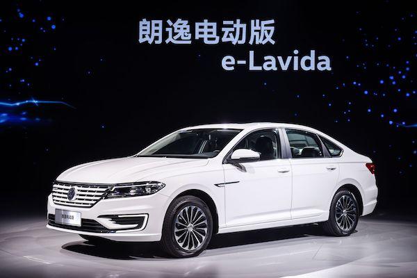 大众汽车新能源的又一新起点  朗逸、宝来及高尔夫纯电车型正式亮相