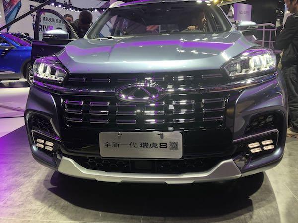 星途-TX上海車展上市 從奇瑞汽車看中國自主汽車品牌的向上發展