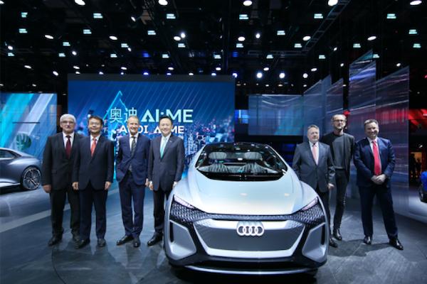 全新奥迪上海车展好戏绵绵 突破科技为未来航行