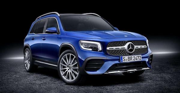 劍指X1和Q3  奔馳全新SUV車型GLB 七座加持能否完勝?