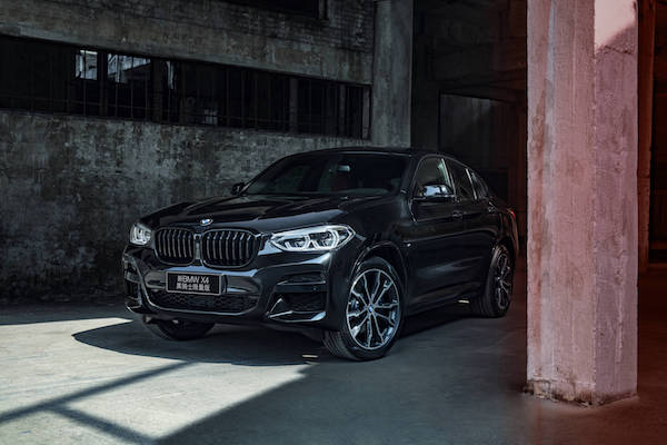 新BMW X4黑骑士限量版惊艳上市