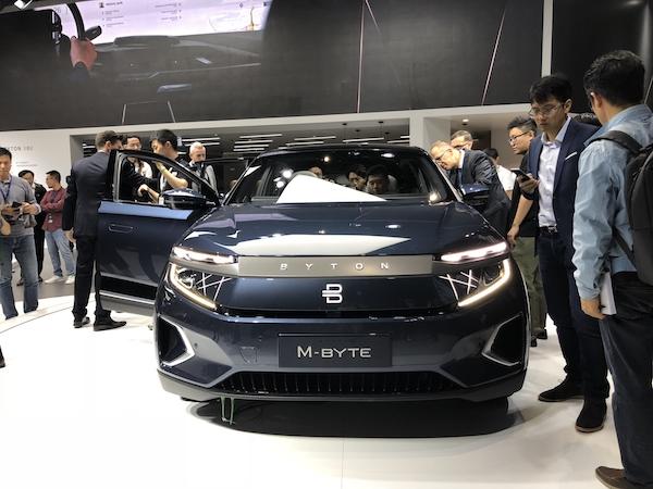 拜腾量产车亮相广州车展,买得起BBA,你买得起它么?