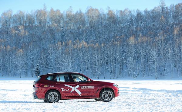 """踏雪尋""""美""""全新BMW X3雪地山路試駕  xDrive讓人信心十足"""