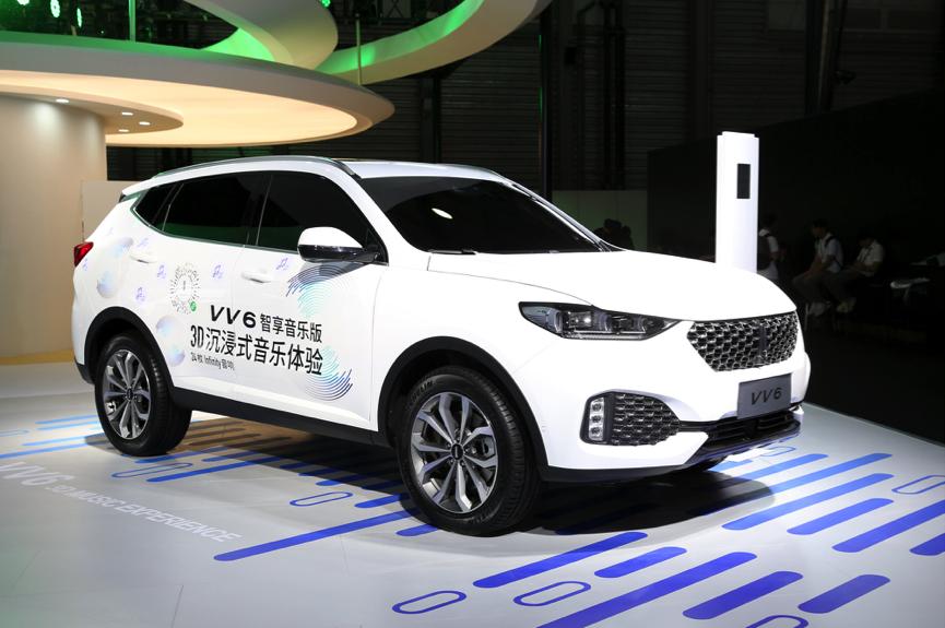 智能科技重新定义出行 长城汽车惊艳亮相2019上海