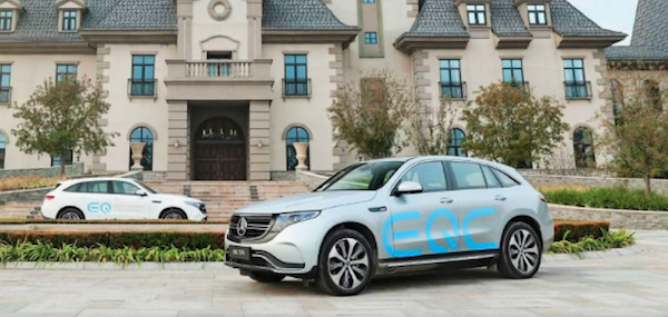 2019年国产EQC将成为奔驰旗下首款上市的纯电车型