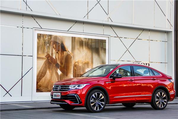 全系2.0T,有颜有实力的轿跑SUV,试驾上汽大众途观X