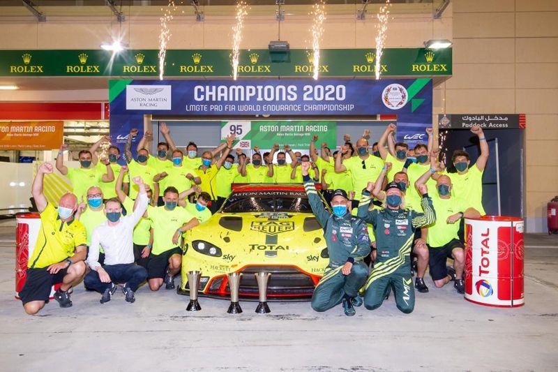 世界耐力锦标赛GT跑车总冠军阿斯顿·马丁 2021年将改变赛事战略重点