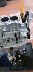 奔驰-GLC发动机缸体大洞