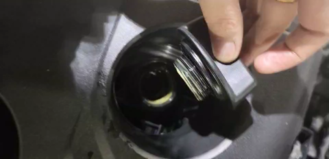 日产-轩逸 新车发动机两次机油乳化