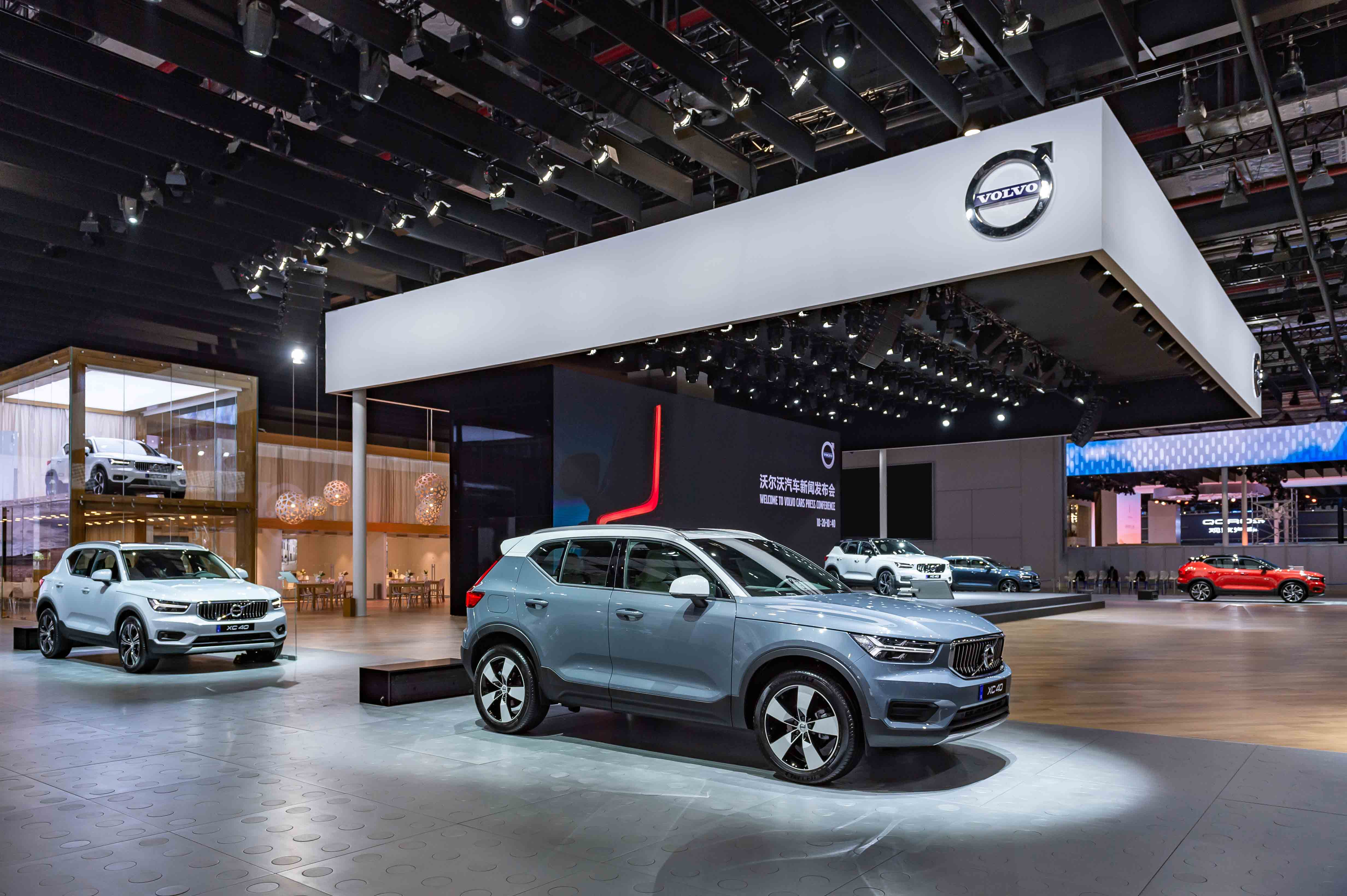 志玲傾情助陣 點燃靈感新生活 都市豪華純正SUV沃爾沃汽車全新XC40預售開啟