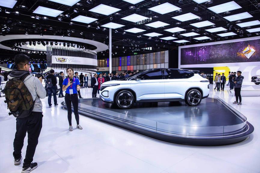 新寶駿品牌首款概念車型RM-C亮相上海國際車展