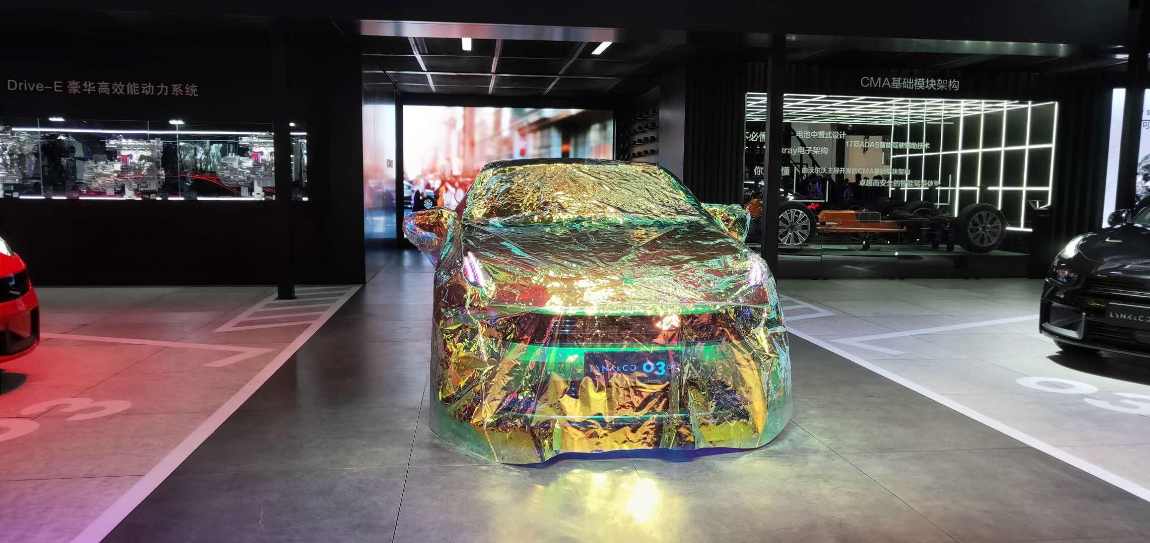 領克03+全新亮相于深港澳國際車展 245匹成就性能車夢想