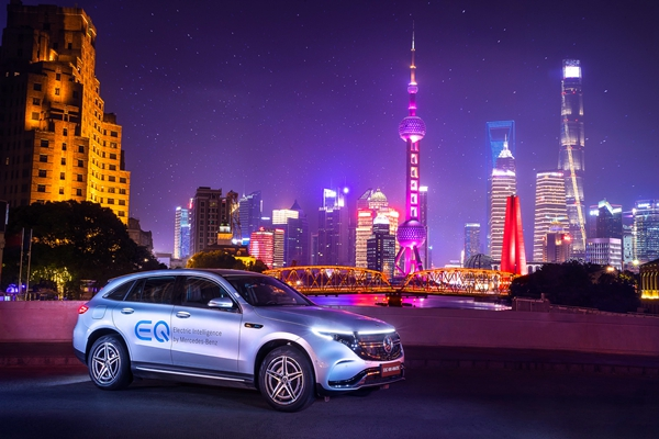 展望地球夢 釋放德意志精神!奔馳只為中國人打造電動車