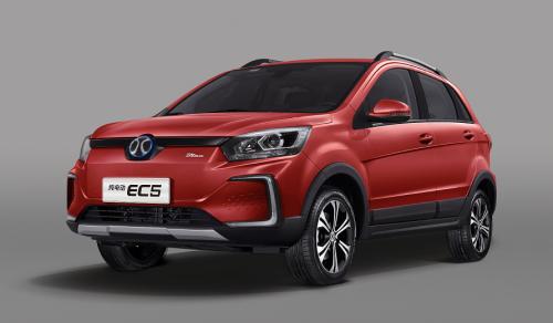 新實力長續航純電SUV 北汽新能源EC5即將上市