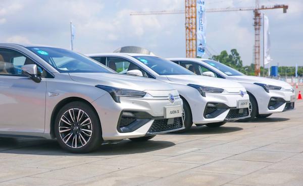 动力迅猛续航出色 广州试驾都市出行利器-广汽新能源Aion S