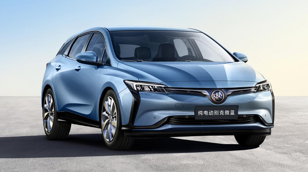 纯电动MAV别克微蓝410KM版上市 综合补贴后售价17.78万-19.98万元