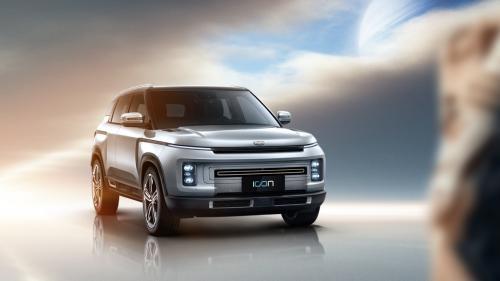 """吉利icon""""银河限量版""""将在广州车展全球首发"""