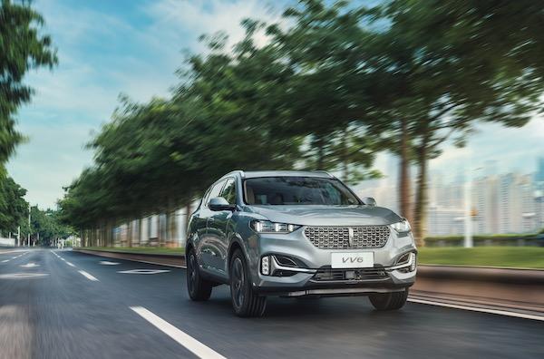 14.8万元起买高端SUV,2021款WEY VV6全方面安全保护用户