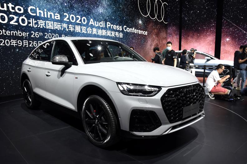 北京车展全球首发的奥迪Q5L Sportback 体现了奥迪对中国市场的重视