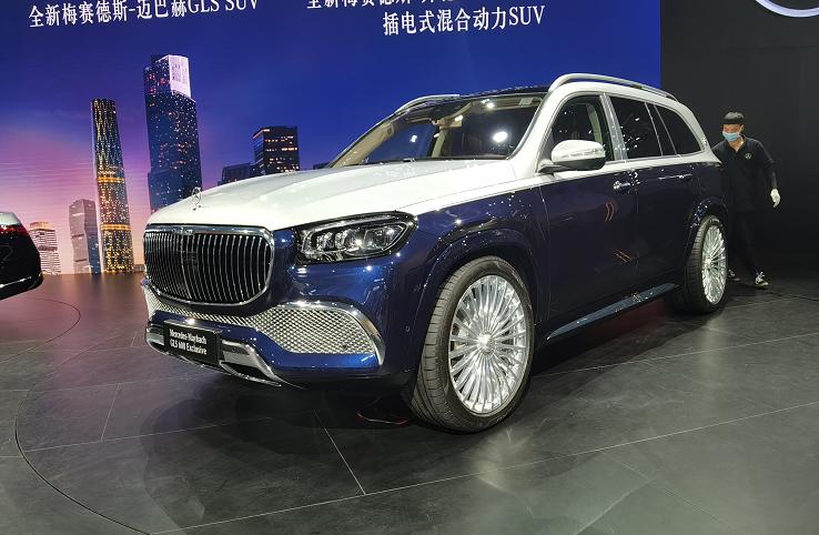 2020广州车展:全新迈巴赫GLS首发!网友:除了贵没啥缺点