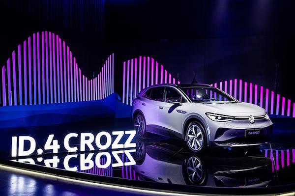 来自一汽-大众的第一份新年礼物 ID.4 CROZZ补贴后售价19万起