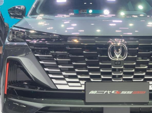 上海车展长安新款CS55 PLUS车型首次亮相颜值又提高!比起前代怎么选?