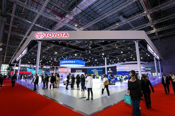 皇冠品牌焕新,一汽丰田于上海车展开启新车攻势