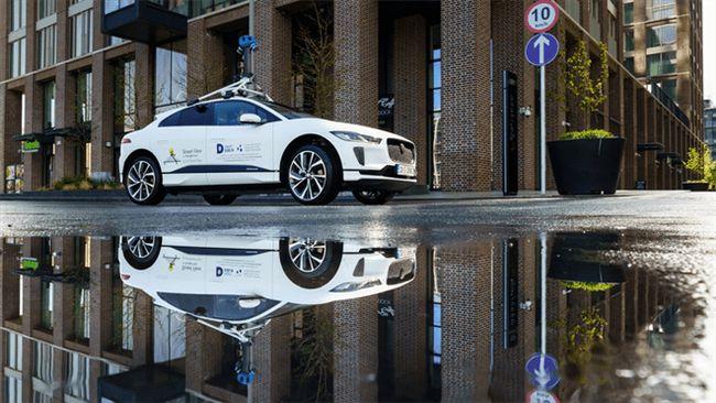 捷豹路虎携手谷歌 以纯电车型I-PACE 共同测量都柏林空气质量