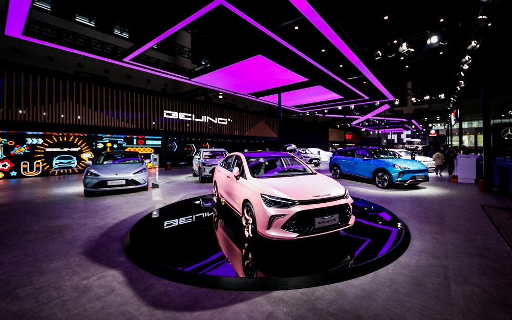 外观、内饰焕新而来,起售价低至7万元|北京U5 PLUS正式上市!