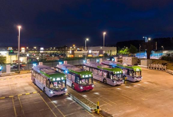 助力零碳出行 比亚迪电动巴士成为第二十六届联合国气候大会官方接驳车