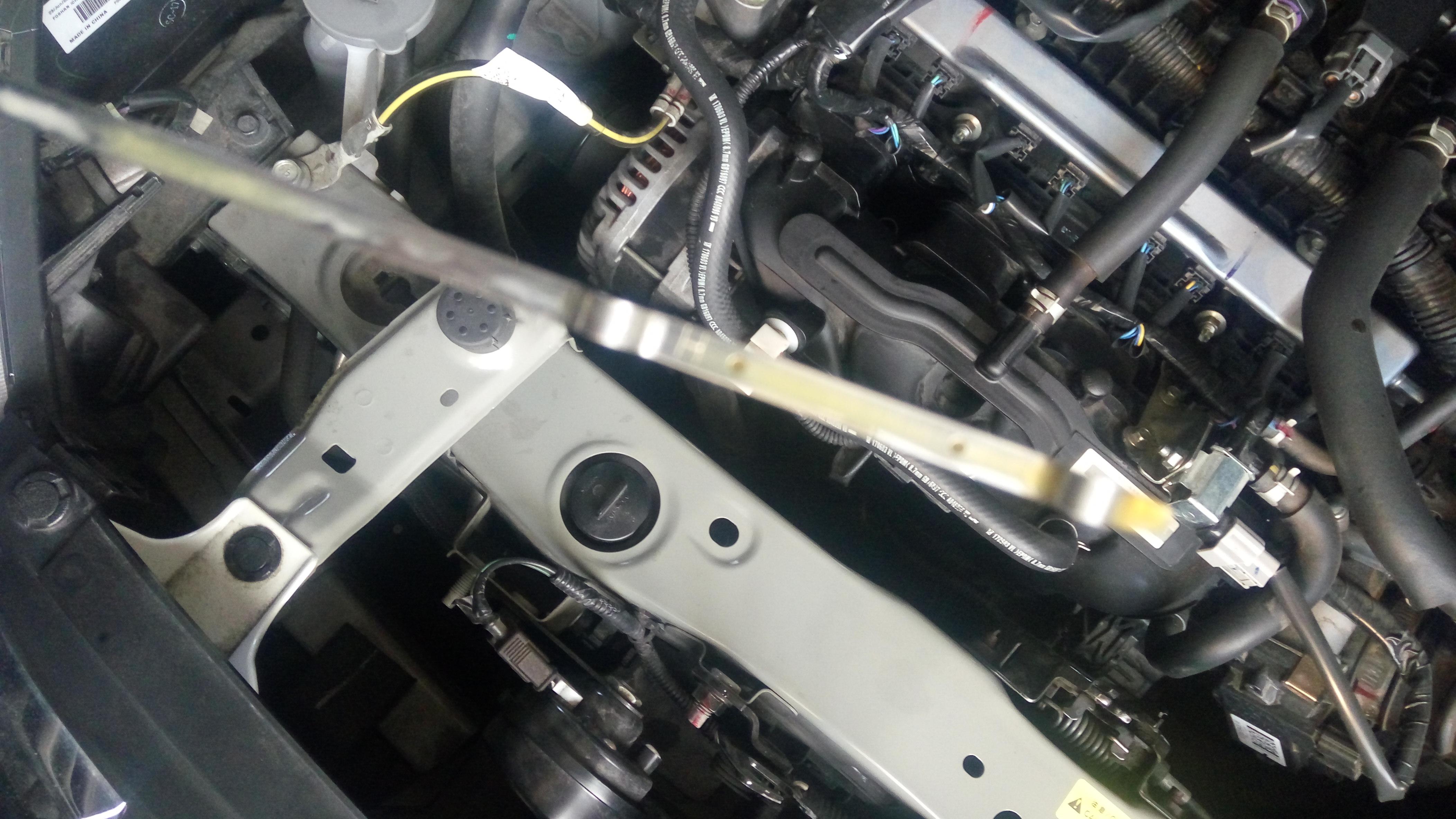 东风日产-劲客 发动机机油乳化