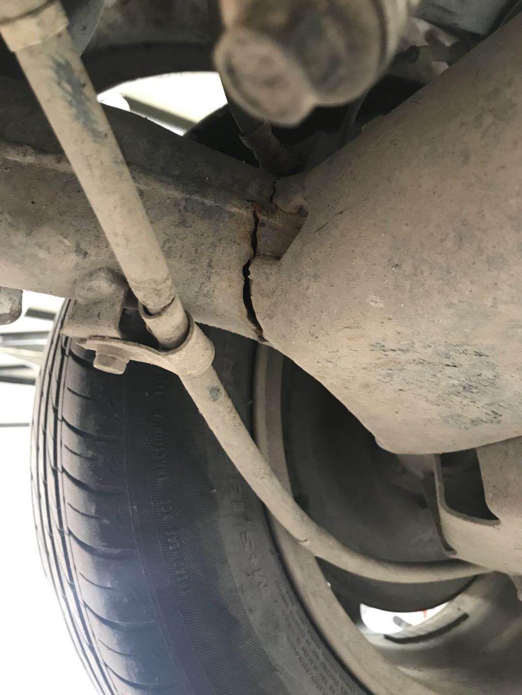 长城汽车-长城C30  后桥开裂