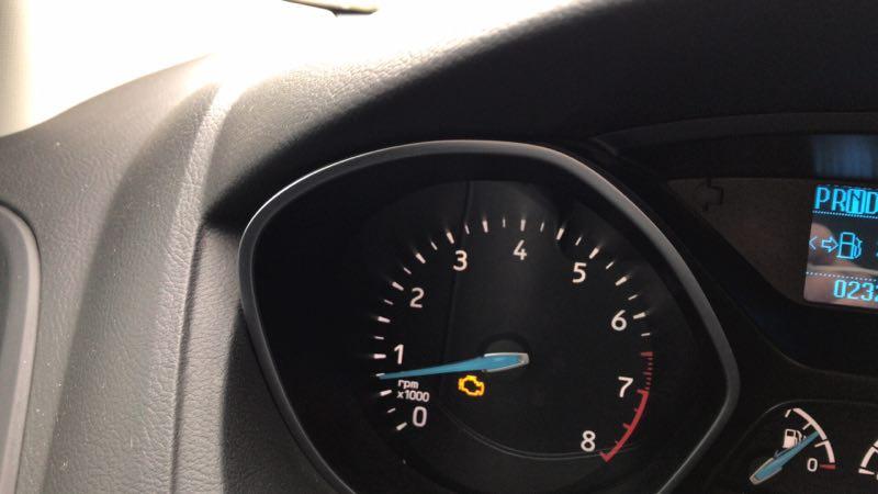 长安福特-福克斯 发动机抖动,发动机故障灯亮