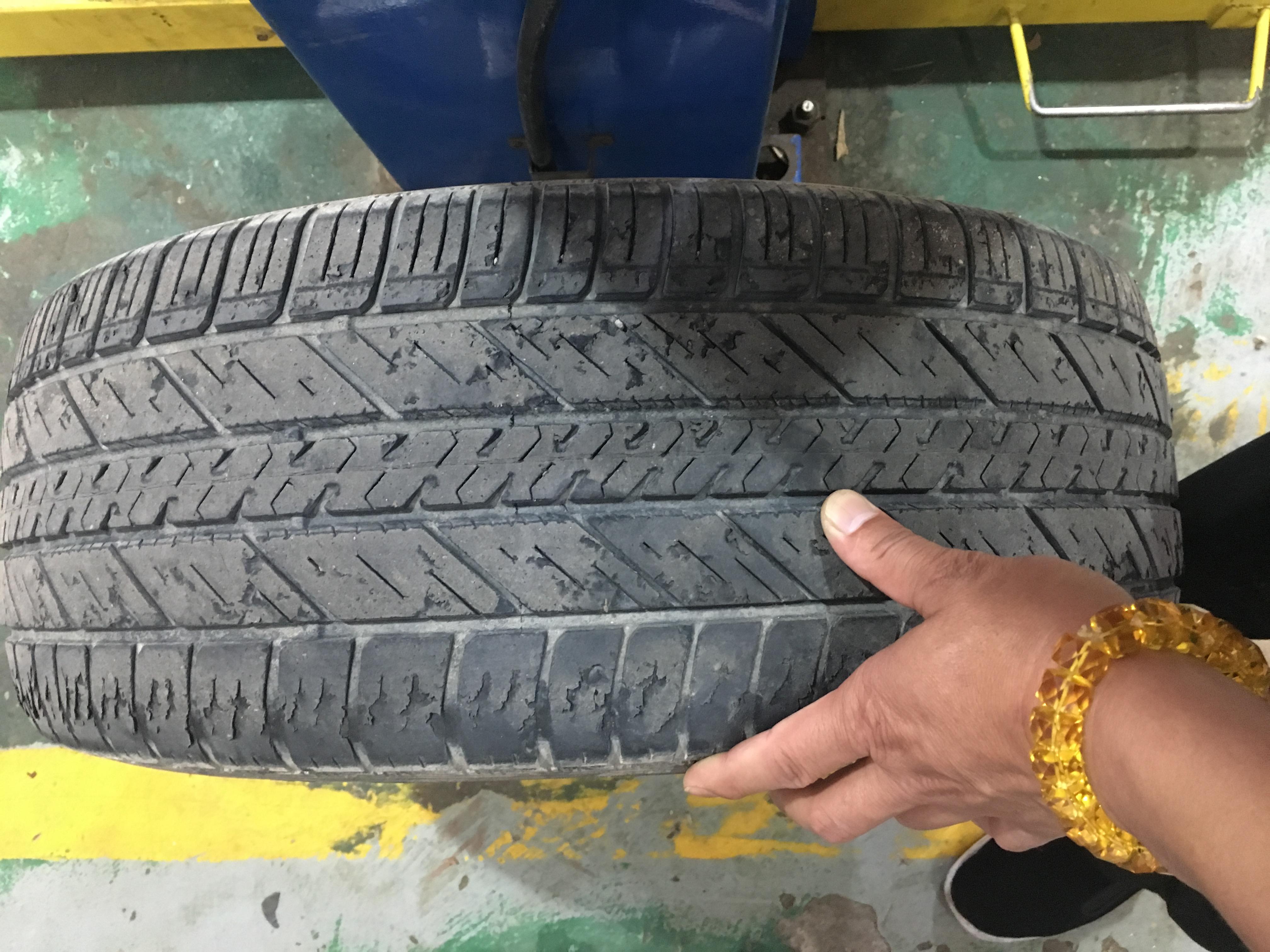 长安福特-翼虎  轮胎质量