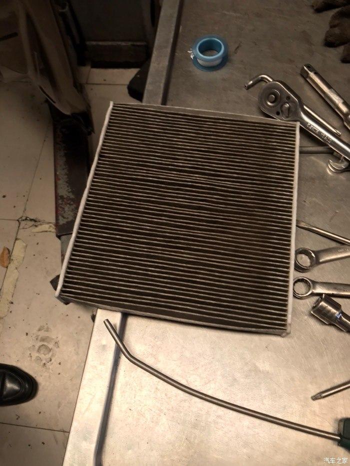 斯柯达-明锐 空调过滤芯有异味