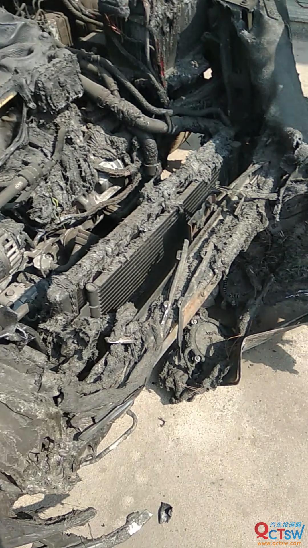 大众-朗逸 车辆自燃至今已经过了半年,问题至今未解决