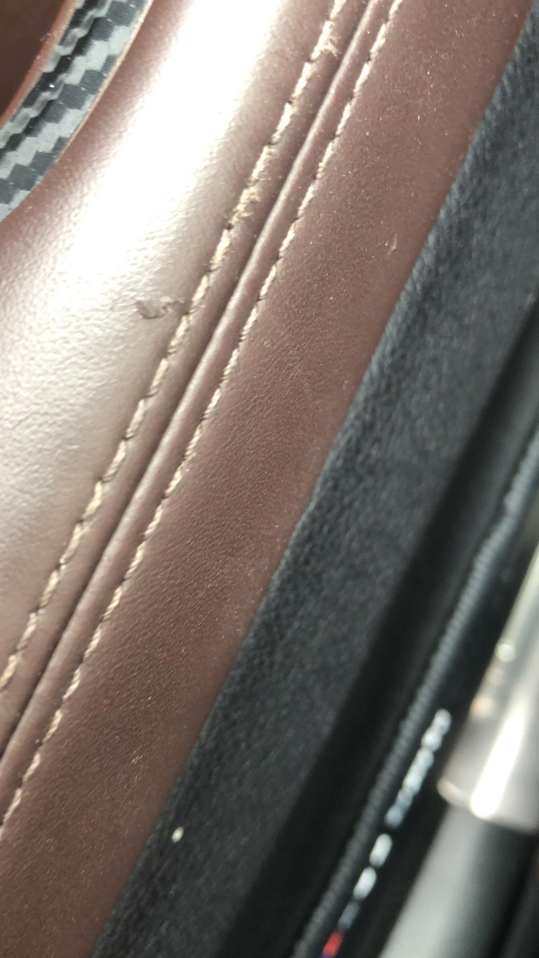 宝马-宝马5系 真皮座椅质量差