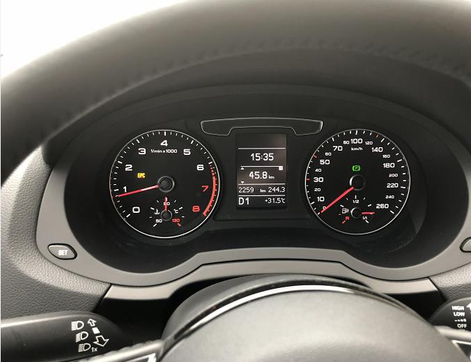 奥迪-奥迪Q3 新车EPC持续亮灯