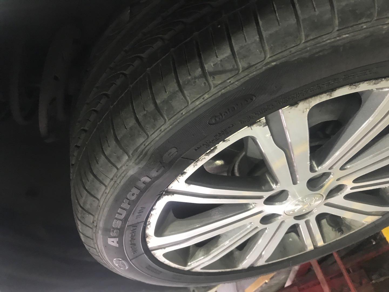 东风标致-标致408 轮胎召回条款中有欠妥当,未对由于质量问题导致已