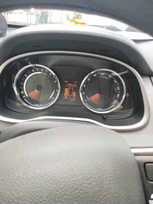 上汽通用-赛欧 方向盘转向重,不复位,故障灯无故亮起