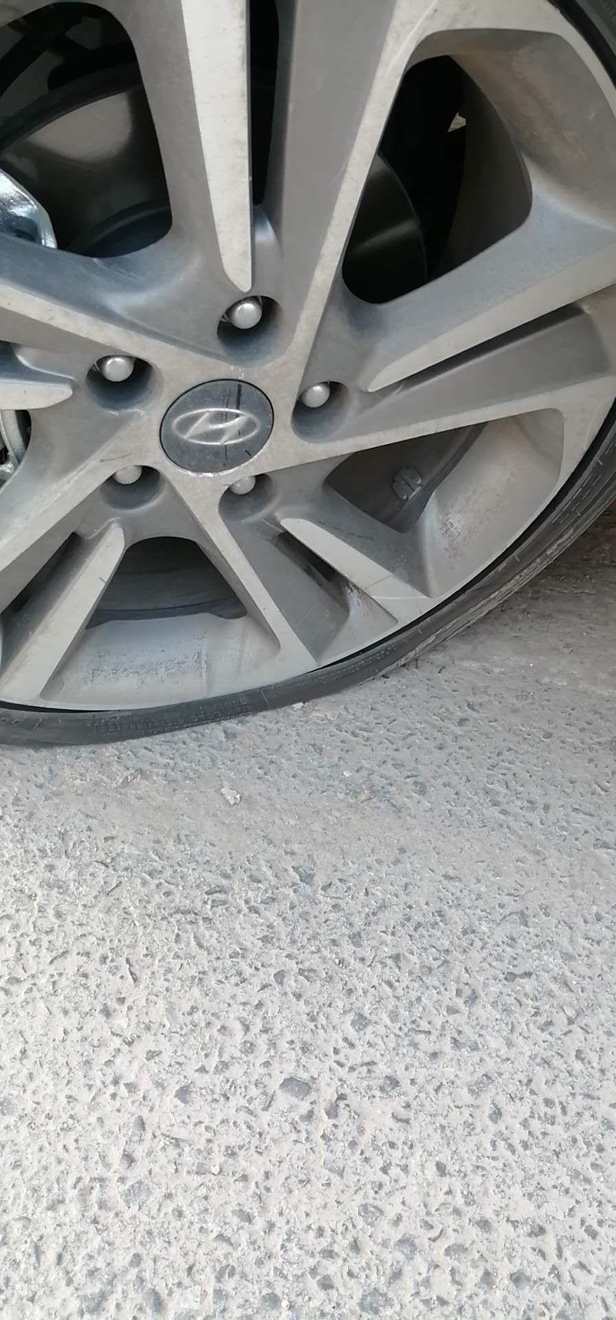 北京现代-领动 轮胎问题