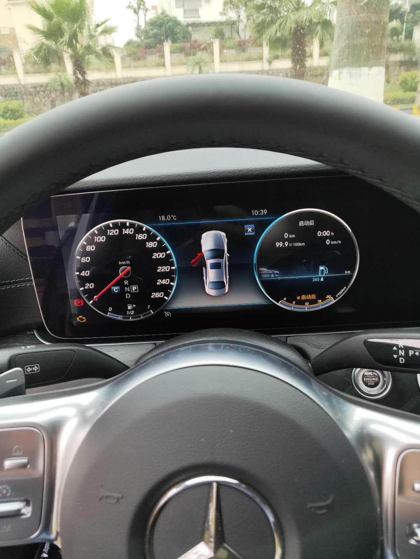 奔驰-奔驰E级 新车在正常行驶中出现故障灯