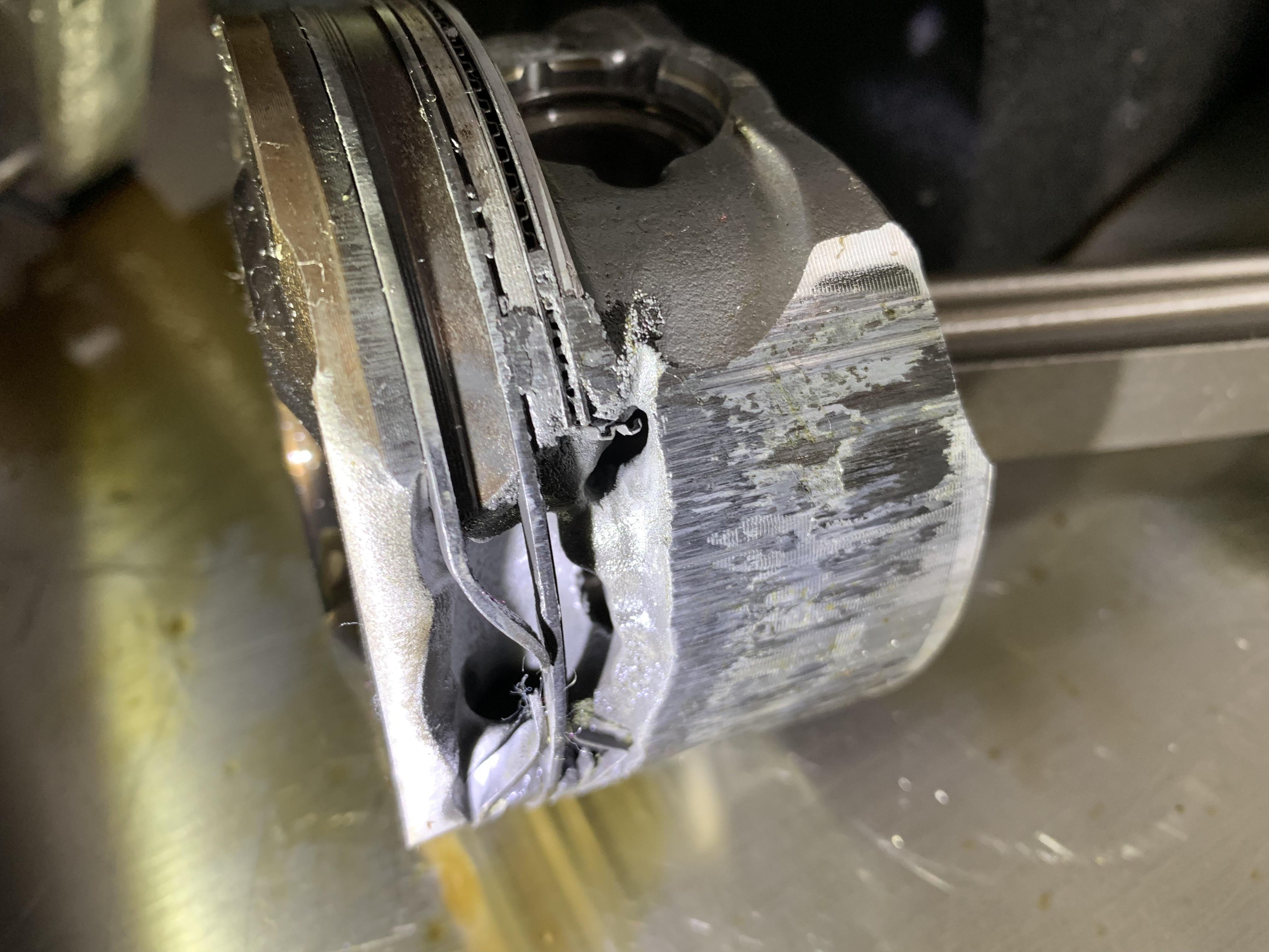上汽通用-凯迪拉克ATS-L 刚买11个月发动机严重拉缸大病小修