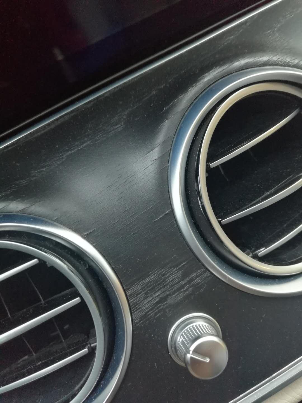 奔驰-奔驰E级 问题众多,桃木面板遇水掉黑汁白色皮无法去除
