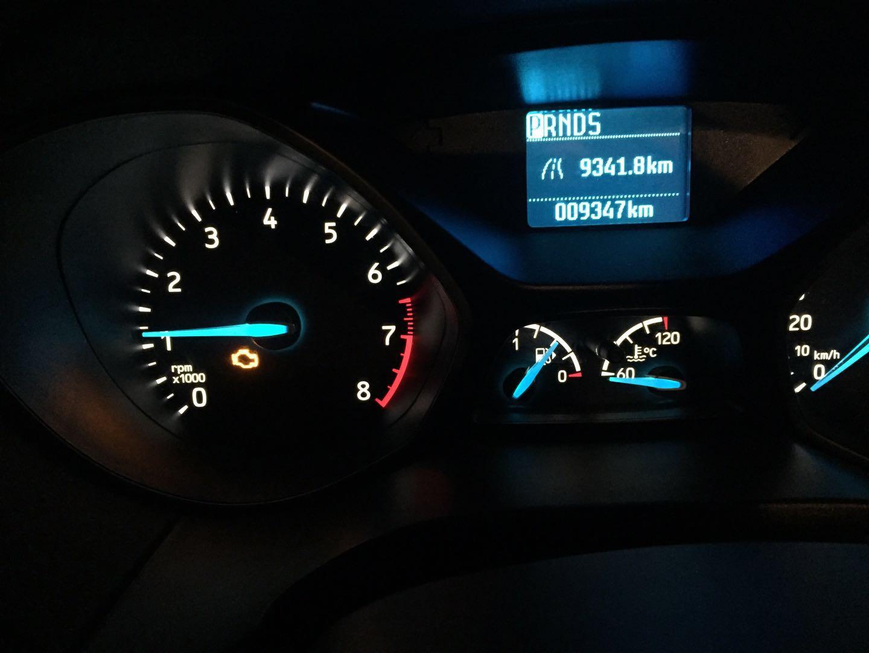 长安福特-福克斯 发动机故障灯报警油泵异响--汽车