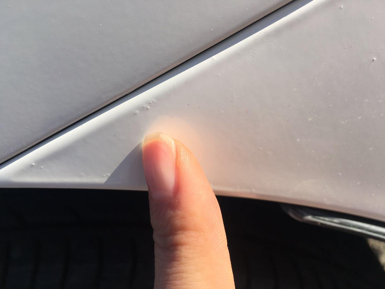 丰田-卡罗拉 4S店喷漆水平差,售后处理态度恶劣,欺诈车主