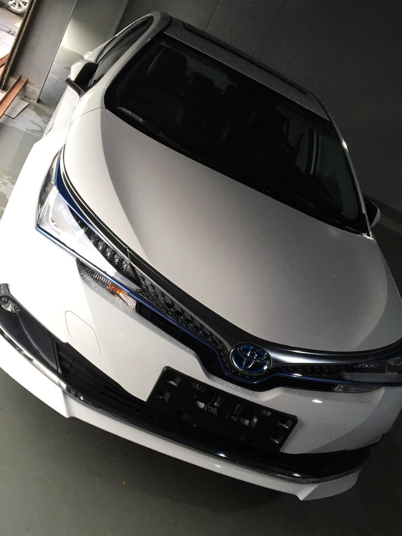 豐田-卡羅拉 新車竟然出現生銹發霉的情況