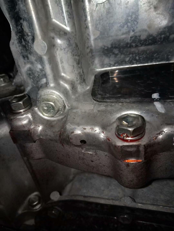 丰田-雷凌 变速箱漏油严重