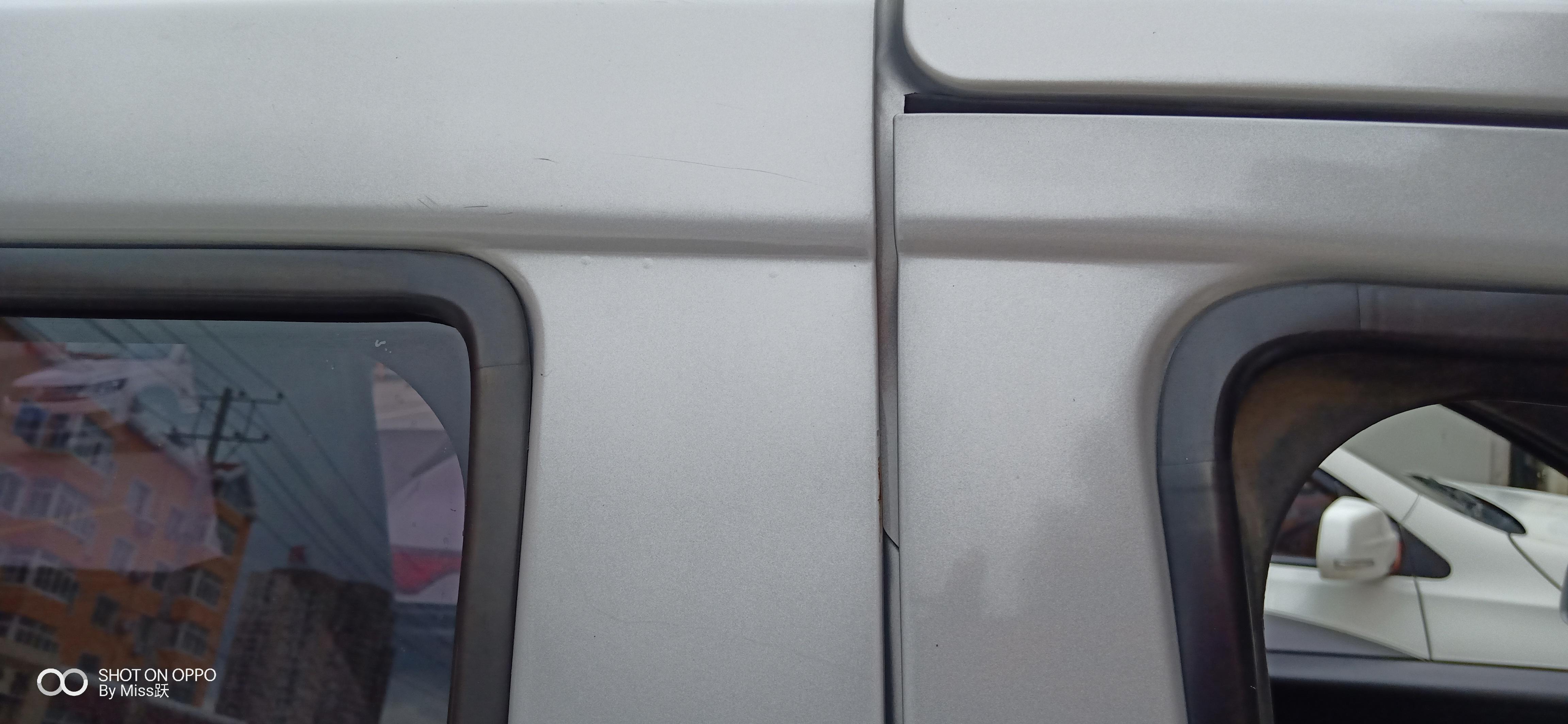 上汽通用五菱-五菱荣光V 全车车漆起泡