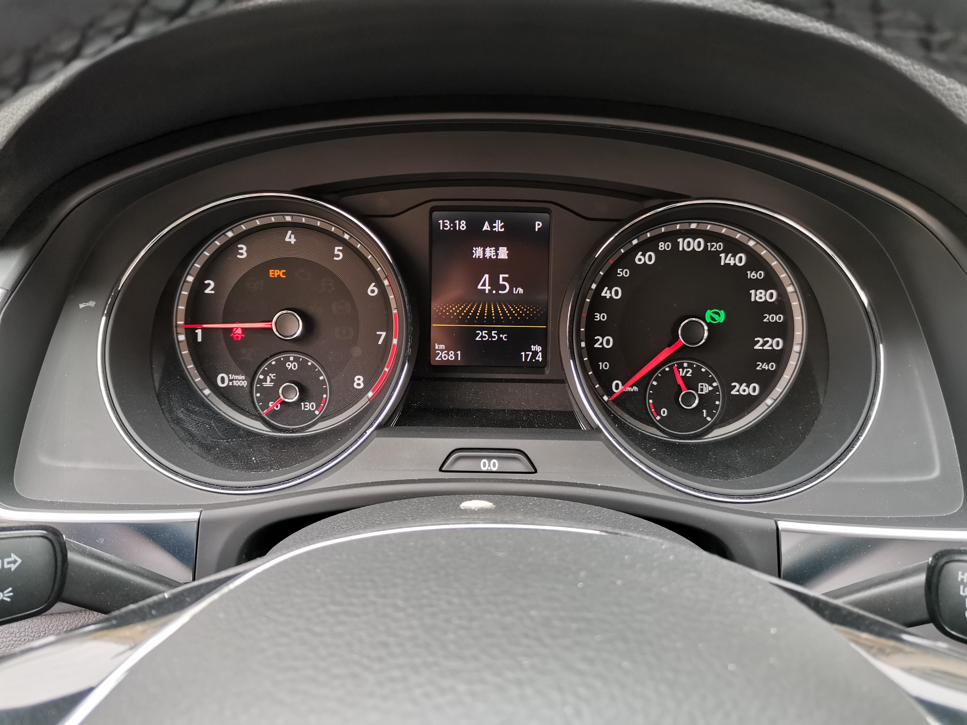 大众-途昂 刚用车一个月就出现EPC故障灯常亮,伴有发动机抖动